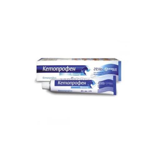 Кетопрофен-врамед гель 2,5% туба 40г