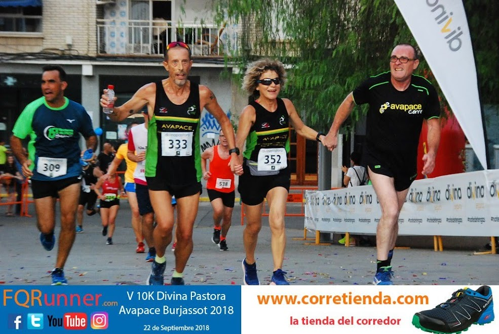 Fotos 10K Divina Pastora Avapace Burjassot 2018