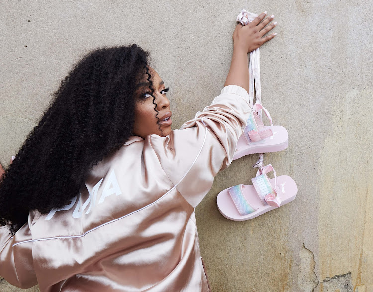 Nomzamo Mbatha is set to launch her own footwear, apparel and accessories for women called Shandu.