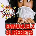 Emmanuelz Surebets:Best VIP Betting Tips App icon