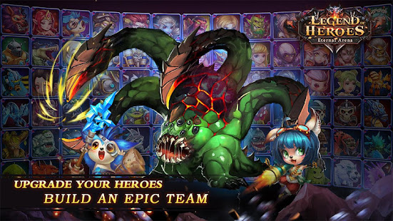How to hack Legend of Heroes : Eternal Arena for android free