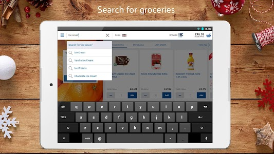 Tesco Groceries : Food Shop screenshot 1
