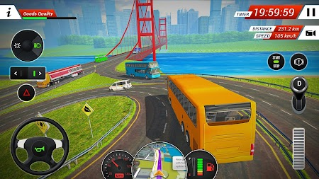 Coach Bus Driving Simulator 2018 APK screenshot thumbnail 4