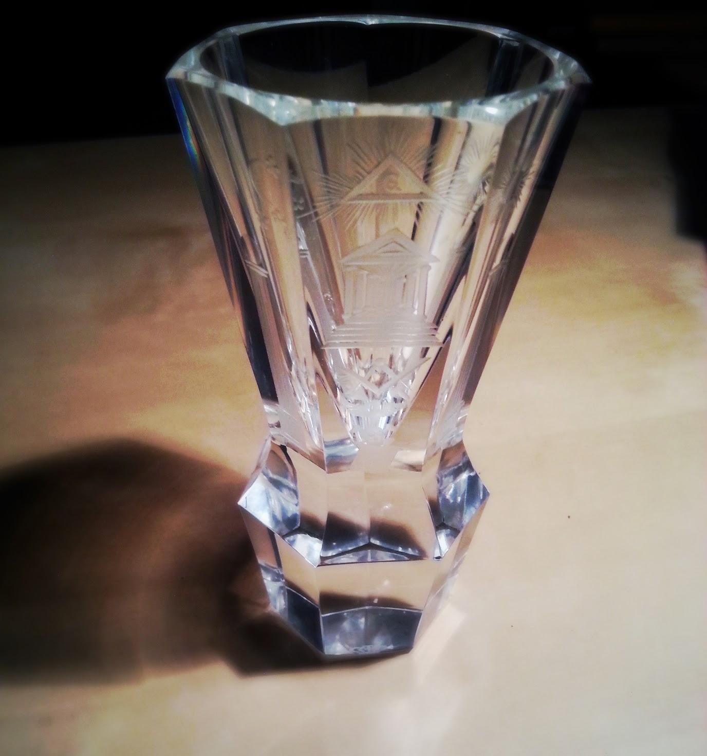 Freimaurer-Glas Kanone