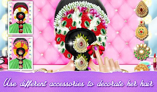 Indian Wedding Bride Hair Do Design And Spa Salon for PC