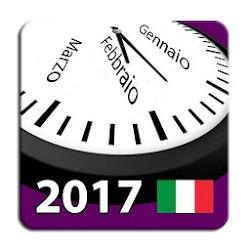 2017-2018 Calendario con Giorni Festivi in Italia