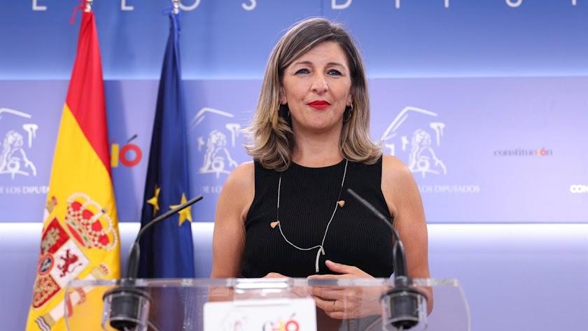 Imagen de archivo de Yolanda Díaz, ministra de Trabajo.