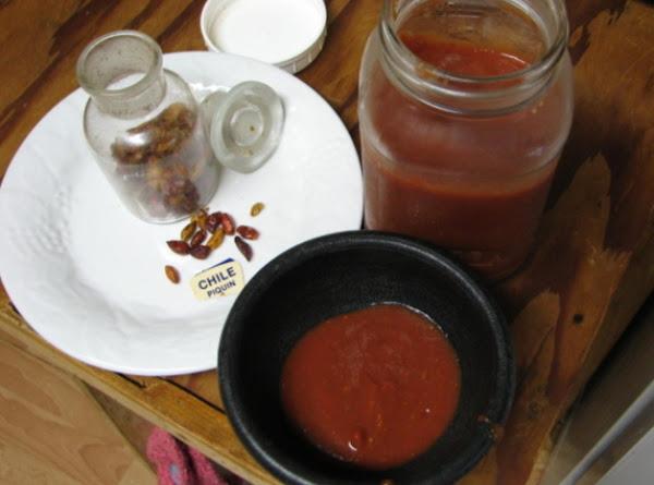 Jerry's Salsa Pequin Recipe