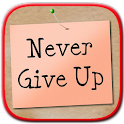 Never Give Up Book icon