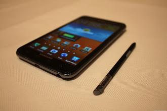 Photo: Samsung Galaxy Note - Photo by Lynn La