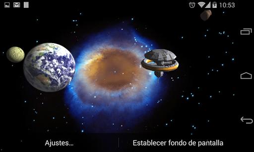 3D Galaxy Live Wallpaper 4K Full screenshot 10