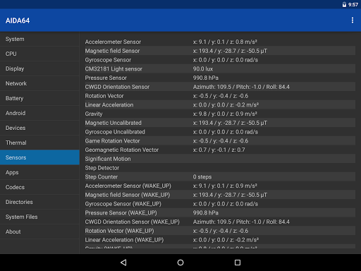 AIDA64 1.67 Apk for Android 16
