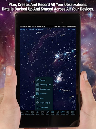 download SkySafari 6 Pro apk última versão App por Simulation