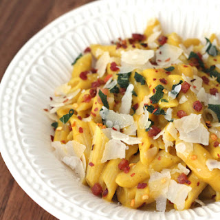 Winter Squash Carbonara With Pancetta and Sage (Gluten-Free and Dairy-Free Friendly)