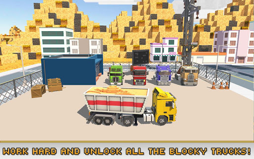 Blocky Truck Simulator 2018 1.5 {cheat|hack|gameplay|apk mod|resources generator} 5