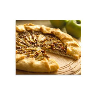 Alouette Cheese and Apple Galette