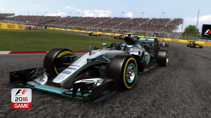 F1 2016 Android App Screenshot