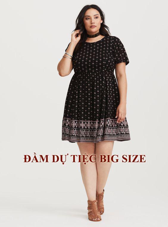 Đầm dự tiệc big size