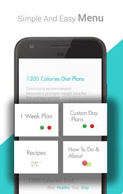 1200 Calorie Weight Loss Diet - screenshot