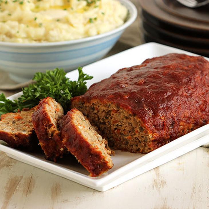 Double Glazed Turkey Meatloaf