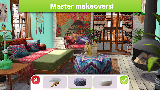 Home Design Makeover Mod Apk (Unlimited Money/Tickets) 3.4.5g 5