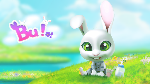 Bu the virtual Bunny - Cute pet care game 2.7 screenshots 16