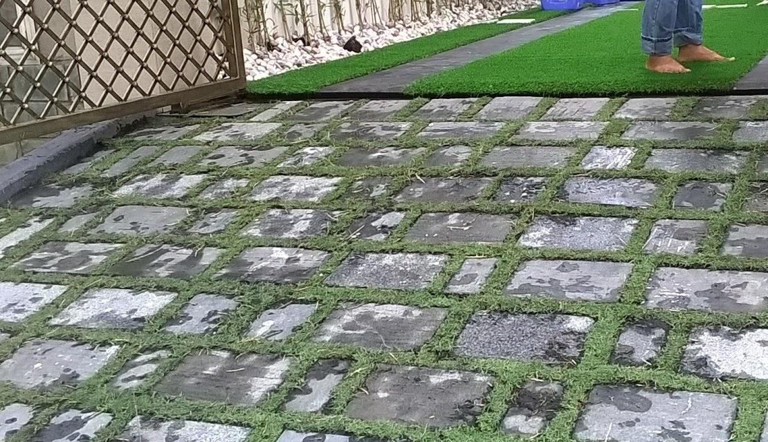 hưởng thụ cảm thấy xanh êm ái cùng cỏ sân vườn ngay trong ngôi biệt thự của bạn