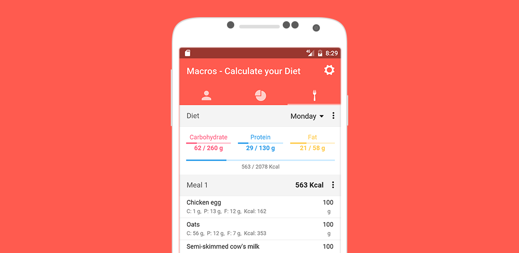 Macros - Calculate your Diet