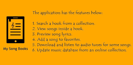 My Song Books – Apps on Google Play