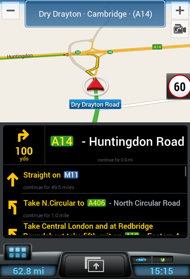 CoPilot GPS - Navigation- screenshot