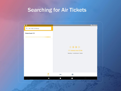 Airline Ticket Booking app screenshot 11