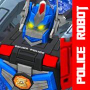 Police Robot : Battle War Superhero Fight Steel
