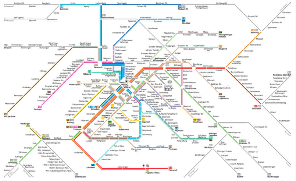 Stuttgart S bahn Map Android Apps on Google Play