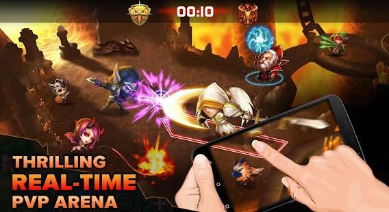 Heroes Tactics: Strategy PvP Screenshot