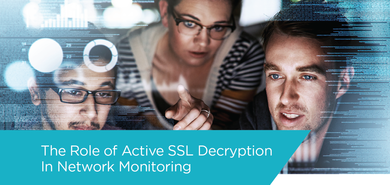 The Role of Network Packet Broker (NPB) with SSL decryption in Network Monitoring. Source: Ixia