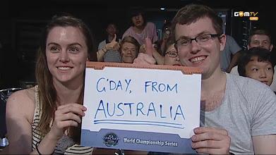 Photo: 호주 팬입니다. WCS 최고에요!