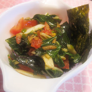 Stir Fry Bok Choy and Kale
