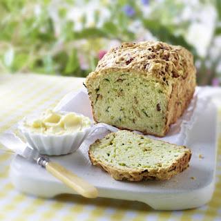 Zucchini and Mushroom Bread
