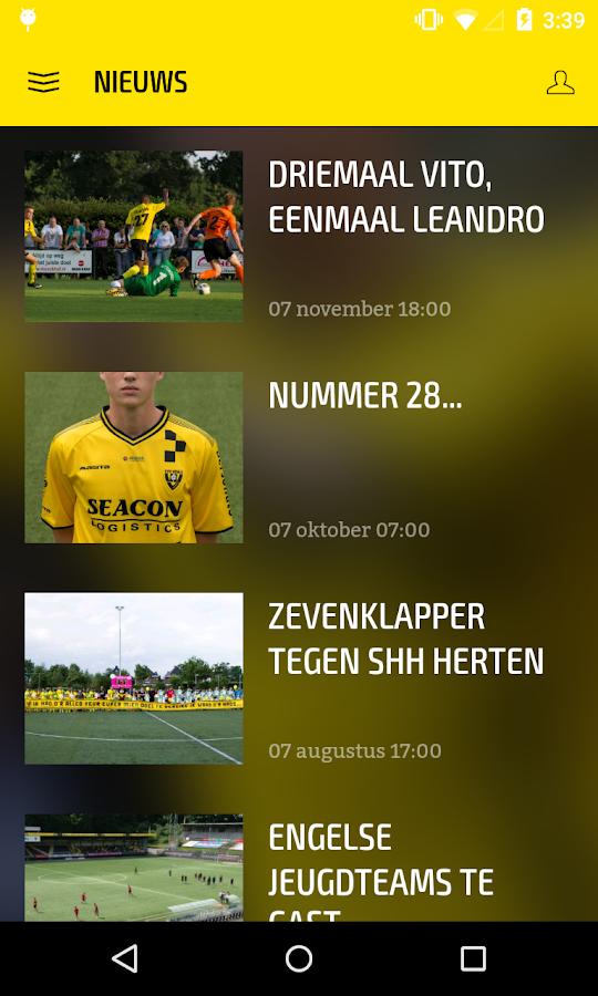 VVV-VENLO LIVE- screenshot
