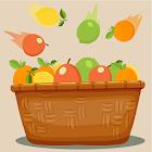 Rompecabezas de línea de frutas cítrico ninja icon