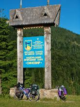 Photo: Zde začíná národní park Siněvir