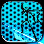 Stickman Neon World Jump Icon