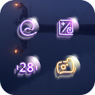 Lightstyle Flash Neon Crystal Texture Icon Pack icon