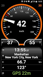 Easy Speedometer Pro Screenshot