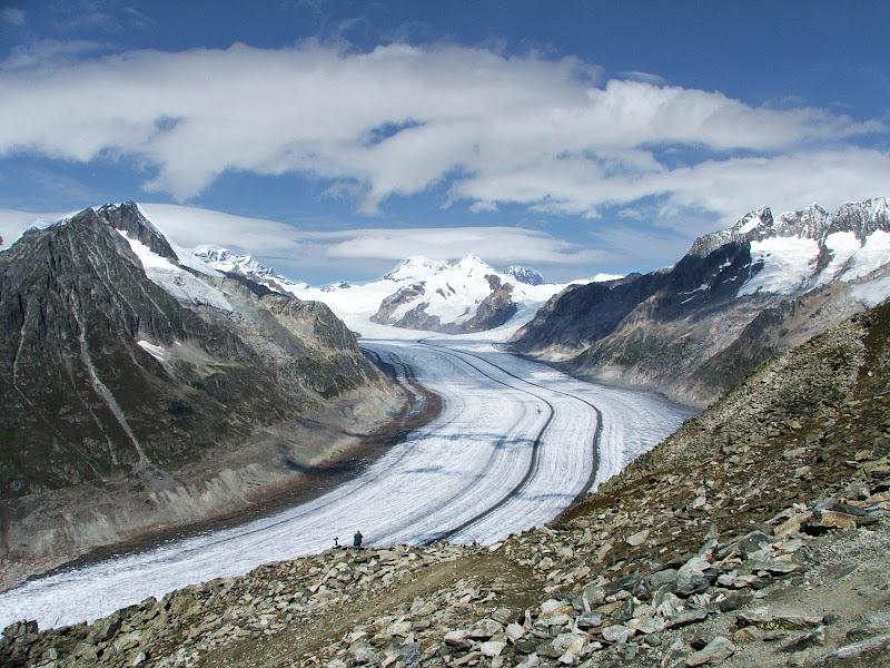 Aletsch-Gletscher, di Giò Volpi