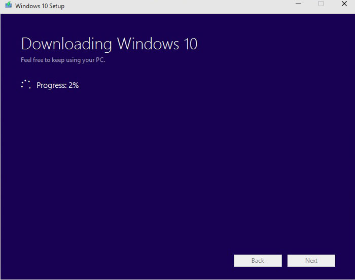 How to Install Windows 10 Pro step 3