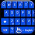 Keyboard Theme Tiles Blue