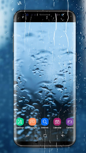 Running Waterdrops Live Wallpaper 2.2.9.2290 screenshots 1