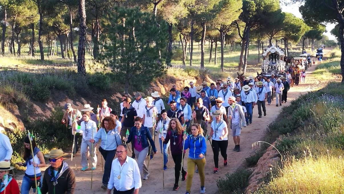Comienza la romería del  Rocío 2018 en Valverde del Camino