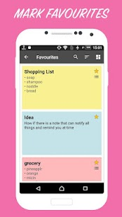 Quick Note : Simple notepad colorful note Screenshot